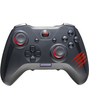 Mad Catz MAD CATZ THE AUTHENTIC C.A.T. 7 WIRED GAME CONTROLLER BLACK