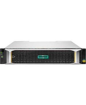 """HPE MSA 1060 10GBASE-T iSCSI SFF Storage - 24 x HDD Supported - 0 x HDD Installed - 24 x SSD Supported - 0 x SSD Installed - Clustering Supported - 2 x Serial Attached SCSI (SAS) Controller - RAID Supported - 24 x Total Bays - 24 x 2.5"""" Bay - 10 Gigabit Ethernet - iSCSI - 2U - Rack-mountable STRG PL-LI NO DEAL REG"""