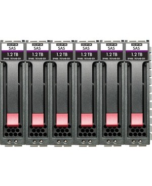 "HPE 14.40 TB Hard Drive - 2.5"" Internal - SAS (12Gb/s SAS) - Storage System Device Supported - 10000rpm 6PK HDD BDL PL-LI NO DEAL REG"