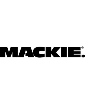 Mackie MC-100 Headphone - Stereo - Black - Mini-phone (3.5mm) - Wired - 32 Ohm - 15 Hz 20 kHz - Gold Plated Connector - Over-the-head - Binaural - Circumaural - 10 ft Cable