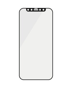 """PanzerGlass Screen Protector Black - For 6.1""""LCD iPhone - Glass PRO CASE  ANTI-BLUELIGHT AB BLACK"""