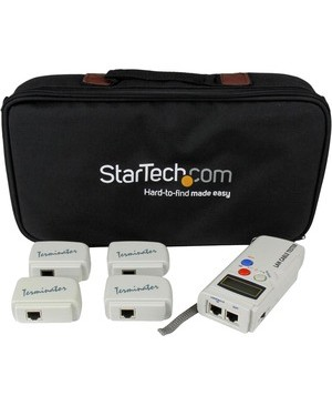 Startech.Com PROFESSIONAL UTP LAN CABLE TESTER 2PART W/4 LOOPBACK PLUGS