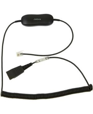 Gn Netcom GN1216 COILED CORD HEADSET ADAP FOR AVAYA 1600/9600 DESK PHONES