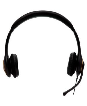 V7 Audio DELUXE USB HEADPHONE W/ NOISE CANCELLING MIC AND VOL CONTROL