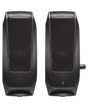 Logitech - Computer Accessories S120 2PC RMS WATTS W/INTEGRATED POWER AND VOLUME CONTROL