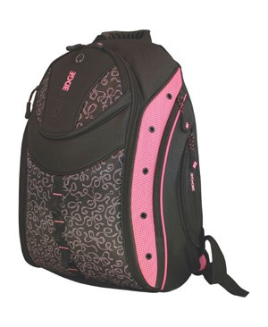 Mobile Edge EXPRESS BACKPACK 2.0 BLACK W/ PINK RIBBONS 16IN PC 17IN MAC