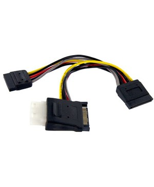 Startech.Com SERIAL ATA TO LP4 WITH 2X ATA POWER SPLITTER CABLE