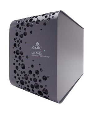 Iosafe SOLO G3 2TB USB 3.0 FIREPROOF WATERPROOF 1YR DATA RECOVERY SVC