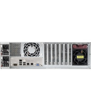 Supermicro - Components BLACK 3U SC835B WITH 1280W DIGITAL REDUNDANT POWER