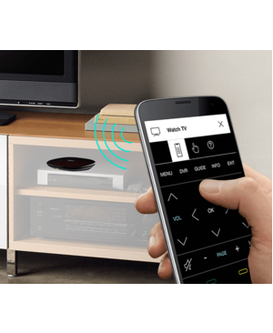 """Logitech Harmony Hub Smartphone Control - 4.9"""" Width x 1"""" Depth x 4.2"""" Height CONTROL OF HOME PRODUCTS"""