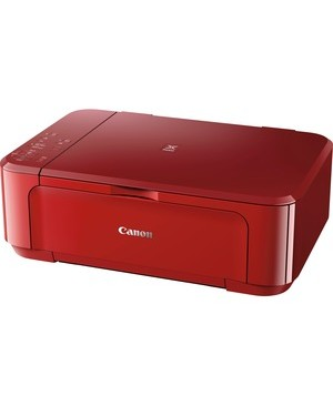 Canon PIXMA MG MG3620 Inkjet Multifunction Printer - Color - Copier/Printer/Scanner - 4800 x 1200 dpi Print - Automatic Duplex Print - 1200 dpi Optical Scan - 100 sheets Input - Wireless LAN FB WL 4800X1200 RED