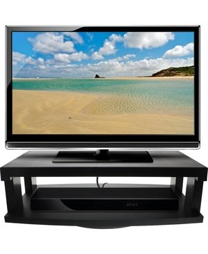 Aleratec 2TIER HEAVY DUTY SWIVEL TV STAND F/ FLAT PANEL TELEVISION 13IN
