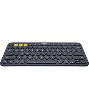 Logitech - Computer Accessories K380 MULTIDEV BT KEYBOARD GREY CONNECT UP TO 3 DEVICES TO ONE KYBD