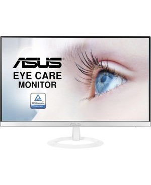 Asus - Display 23IN VZ239H-W HDMI VGA 1080P IPS EYE CARE MONITOR WHITE