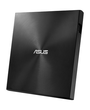 Asus - Components 13MM EXTERNAL DVD WRITER/ BLACK USB 2.0 & TYPE-C FOR BOTH MAC/PC