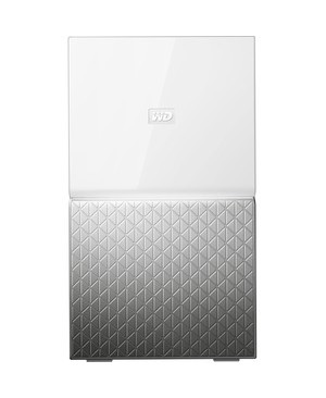 Western Digital - Content Solutions 12TB MY CLOUD HOME DUO PERSONAL CLOUD STORAGE NAS