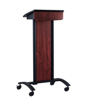 Oklahoma Sound Corp CONVERSATION LECTERN FEATURES TILTING SURFACE WITH SHELF