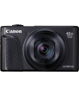 Canon-Photo Video POWERSHOT SX740 HS BLACK 20.3MP 40X OPT 3.0IN