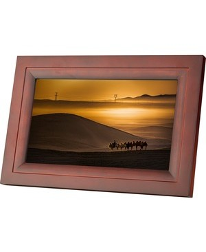 Idea Electronics IDEA 10IN WIFI PHOTO FRAME ESPRESSO INSTNTLY SHAREPHOTOSWRLSLY