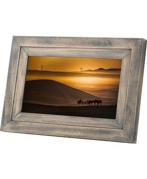 Idea Electronics IDEA WIFI 7IN DIGITAL PHOTO FRAME DRIFTWOOD TOUCH SCREEN
