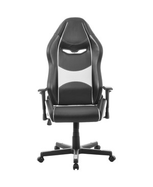 Battery Technology Inc. ULTRA GAMING CHAIR WHITE/BLACK PREMIUM PU LEATHER GC-0015