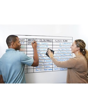 3m - Workspace Solutions 3FTX4FT WHITE FLEX WRITE DRY ERASE SURFACE