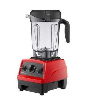 Worryfree Gadgets 10 VARIABLE SPEED PULSE FEATURE VITAMIX E320 EXPLORIAN BLENDER RED
