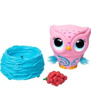 Spin Master OWLEEZ FLYING BABY OWL PINK INTERACTIVE W/ LIGHTS & SOUNDS