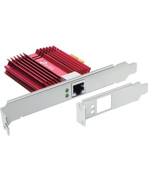 TP-Link 10 Gigabit PCIe Network Adapter - PCI Express 3.0 x4 - 1 Port(s) - 1 - Twisted Pair