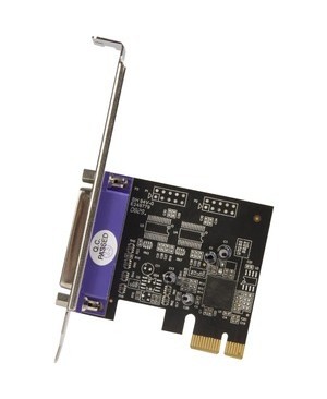 1PORT PARALLEL PCIE CARD TO