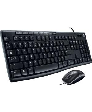 Logitech - Computer Accessories COMBO USB MEDIA MK200 KEYBOARD MOUSE