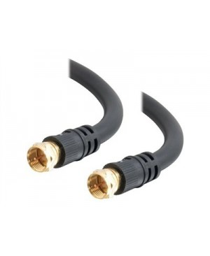 C2G Value Series 3ft Value Series F-Type RG6 Coaxial Video Cable - video cable - 3 ft