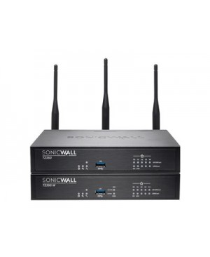 SonicWall TZ350 Wireless-AC - Security appliance - GigE - Wi-Fi - Dual Band - SonicWALL Secure Upgrade Plus Program (2 years option)