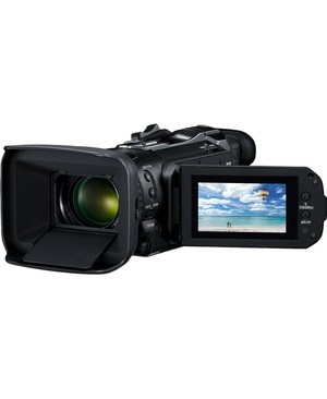 "Canon VIXIA HF G60 Digital Camcorder - 3"" - Touchscreen LCD - CMOS - 4K - Black - 16:9 - 8.3 Megapixel Video - H.264/MPEG-4 AVC, MP4 - 15x Optical Zoom - Electronic, Optical (IS) - HDMI - USB - SD, SDXC, SDHC - Memory Card"