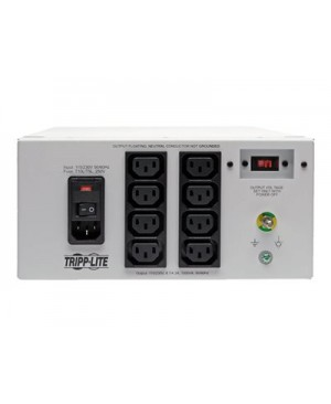 Tripp Lite Isolator Series Dual-Voltage 115/230V 1000W 60601-1 Medical-Grade Isolation Transformer, C14 Inlet, 8 C13 Outlets - transformer - 1000 Watt - 1000 VA