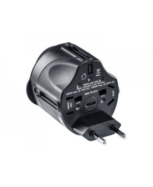 CyberPower Travel Adapters TRA1A2 - power connector adapter