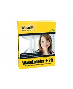 WaspLabeler +2D - box pack - 1 user