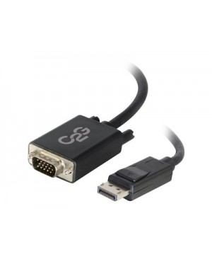 C2G 10ft DisplayPort to VGA Adapter Cable - Active - Black TAA - DisplayPort cable - 10 ft