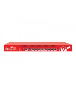 WatchGuard Firebox M470 - High Availability - security appliance - with 1 year Standard Support