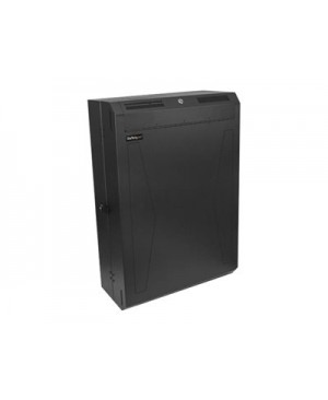 "StarTech.com 6U Wall Mount Network Cabinet - Vertical Wall Mount Patch Panel Rack - 30"" Server Room Cabinet (RK630WALVS) rack enclosure cabinet - 6U"