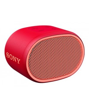 Sony SRS-XB01 - Speaker - for portable use - wireless - Bluetooth - red