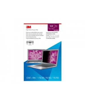 """3M High Clarity Filter for 14"""" Widescreen Laptop - notebook privacy filter"""