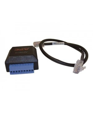 APC Dry Contact I/O Accessory - network adapter kit - black