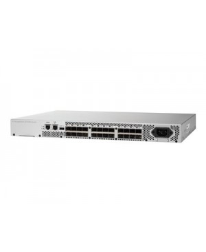 HPE 8/8 (8) Full Fabric Ports Enabled SAN Switch - switch - 8 ports - managed - rack-mountable