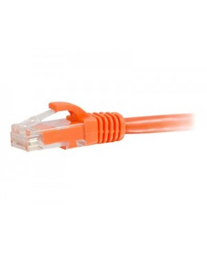 C2G Cat5e Snagless Unshielded (UTP) Network Patch Cable - patch cable - 50 ft - orange