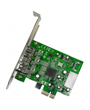StarTech.com 3 Port 2b 1a 1394 PCI Express FireWire Card