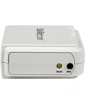 StarTech.com 1 Port USB Wireless N Network Print Server with 10/100 Mbps Ethernet Port - 802.11 b/g/n
