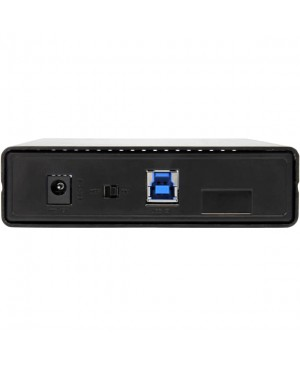 "StarTech.com USB 3.1 (10Gbps) Enclosure for 3.5"" SATA Drives - Supports SATA 6 Gbps - Compatible with USB 3.0 and 2.0 Systems"