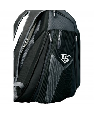 Louisville Slugger Prime Carrying Case (Backpack) Gear, Bat, Baseball - Black, Charcoal