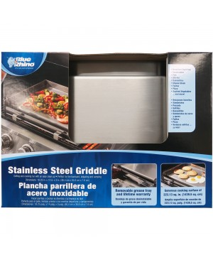 Blue Rhino Stainless Steel Griddle